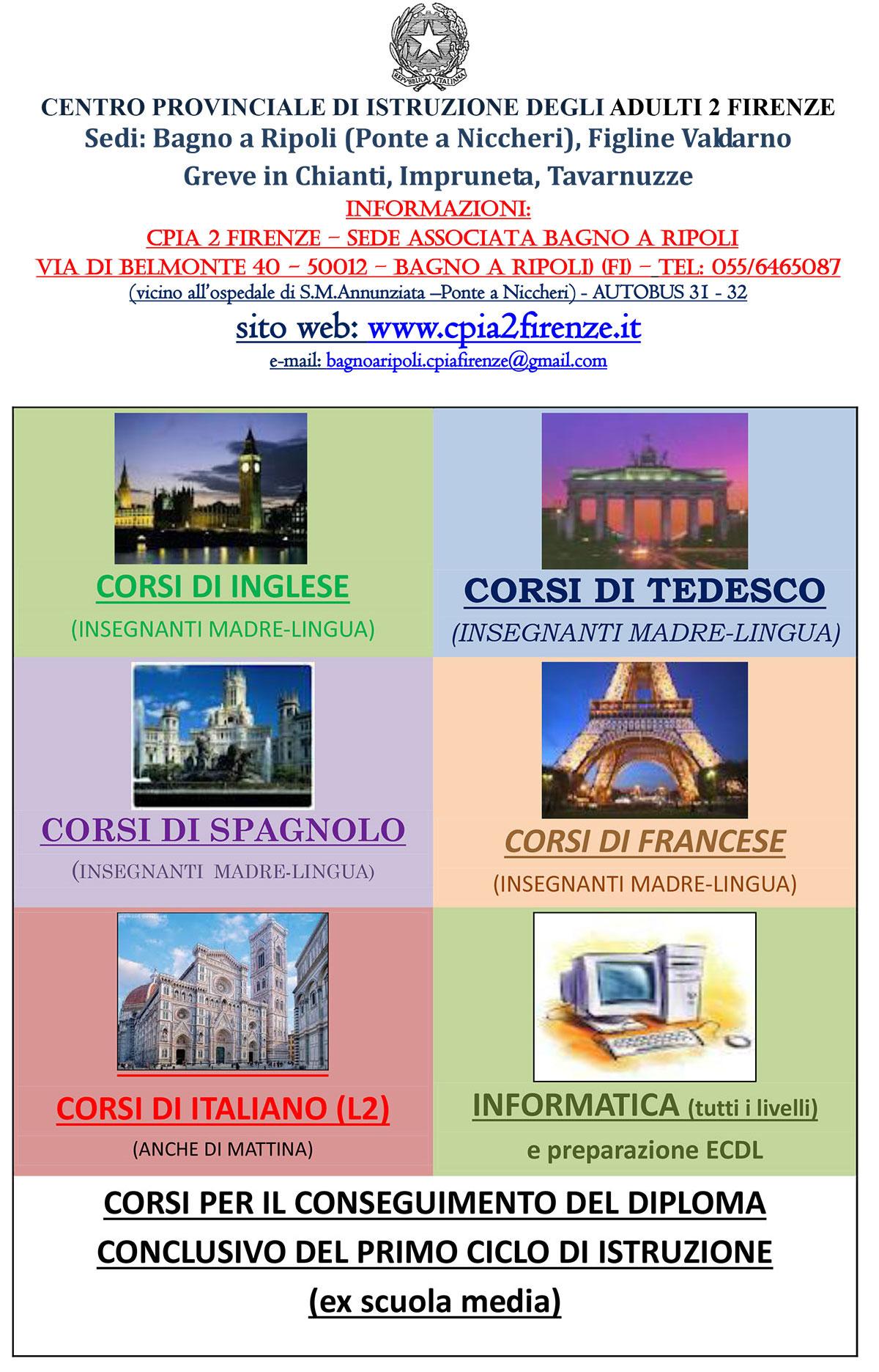 Iscrizioni al CPIA - CPIA 2 Firenze